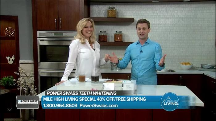What you should know about Power Swabs. Power Swabs is an inovative new teeth whitening product designed for people who do not like to use mouth trays or strips.