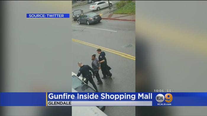 Gunfire inside glendale galleria during one news page video for Glendale jewelry mart hours