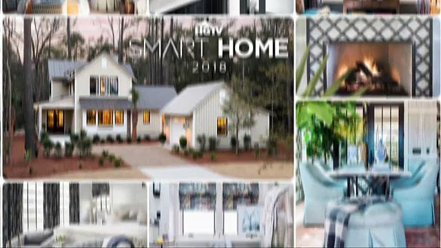 take a tour of hgtv smart home 2018 one news page video. Black Bedroom Furniture Sets. Home Design Ideas