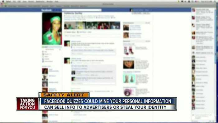 News video: Those Facebook quizzes and