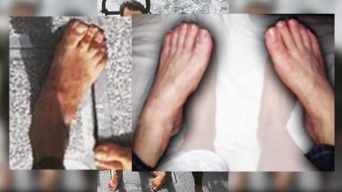 News video: Could These Feet in Bed With Aubrey O'Day Belong to Donald Trump Jr.?