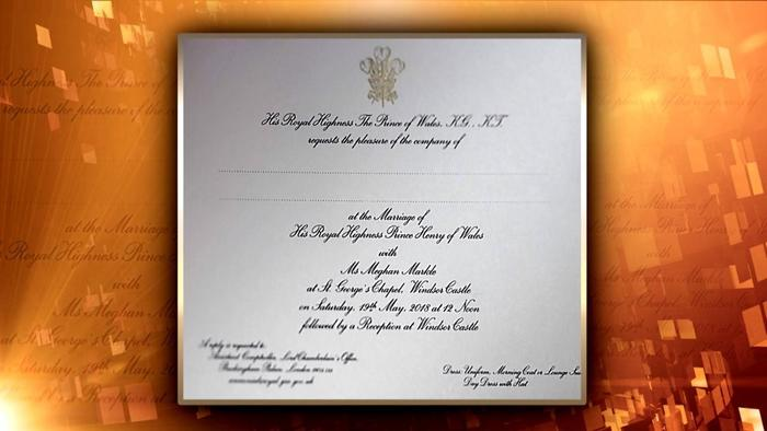 Wedding Invitations South Wales: First Look At Meghan Markle And Prince Harry's