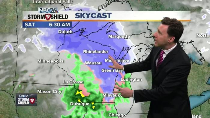 Michael Fish 39 S Nbc26 Storm Shield Weather One News Page