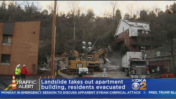 route 30 collapses landslide forces 30plus one news