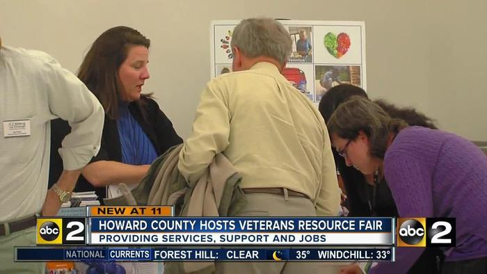 Howard county hosts veterans and military one news page for Howard county craft fair