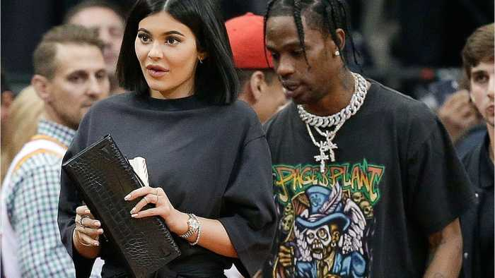 News video: Kylie and Travis Have Datenight At Houston Game