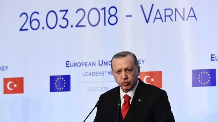 News video: Turkey's Erdogan Campaigning Even In The US