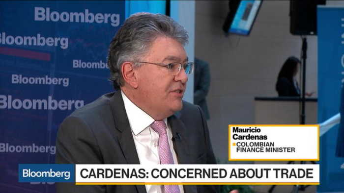 News video: Colombia's Cardenas Sees No Intervention to Curb Peso Rally