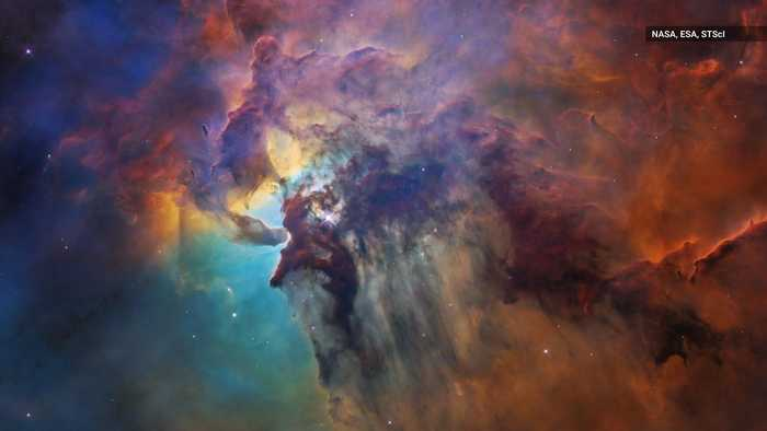 News video: Hubble Celebrates 28 Years with Jaw-Dropping Shot of Stellar Nursery