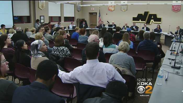 News video: North Allegheny Parents Address School Board With Concerns Over INPAX Owner's Social Media Posts