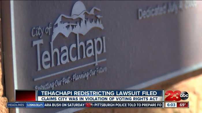 News video: Tehachapi redistricting lawsuit filed