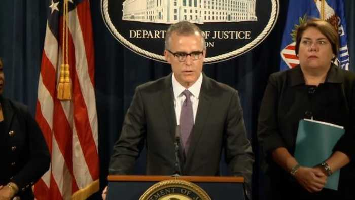 News video: Report: DOJ IG Sent Andrew McCabe 'Criminal Referral' To US Attorney