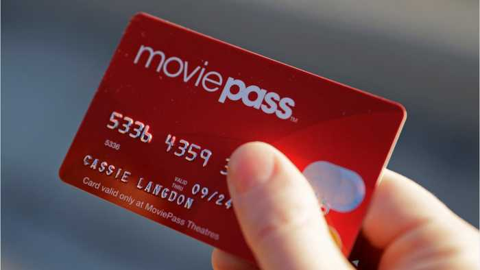 News video: MoviePass Owner's Shares Fall More Than 40%