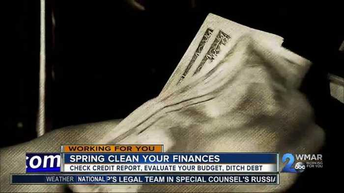 News video: Spring cleaning your finances
