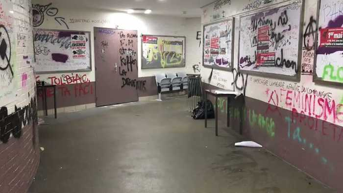 News video: Bill for Damage After Student Occupation Runs to Hundreds of Thousands of Euro, Says Paris University President