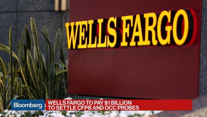 News video: Wells Fargo to Pay $1 Billion to Settle CFPB, OCC Probes