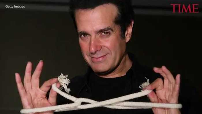 News video: David Copperfield Has Been Forced to Reveal His Famous 'Lucky 13' Magic Trick in Court
