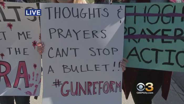 News video: Students At Germantown Friends School Participate In Walkout On Columbine Anniversary