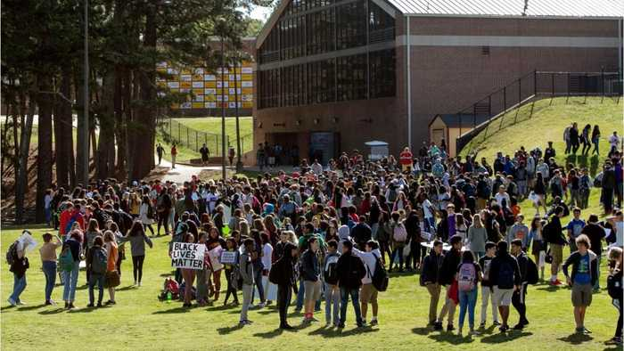 News video: Students Stage Another Walk Out To Protest Gun Violence
