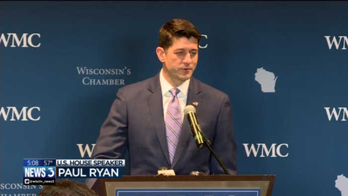 News video: 'It's been the honor of my life': Paul Ryan thanks constituents from 1st Congressional District