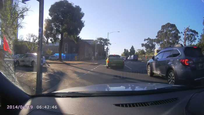 News video: Taxi Gets T-Boned