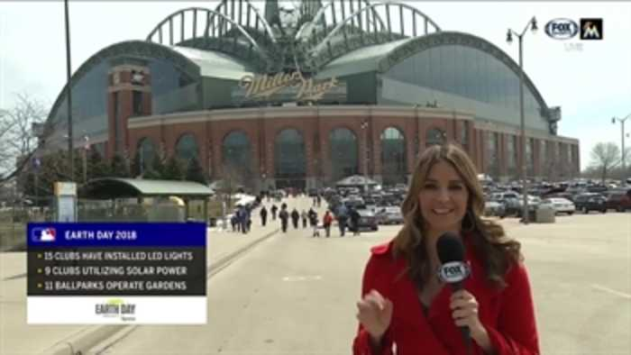 News video: Jessica Blaylock runs down how MLB teams are trying to be environmentally friendly