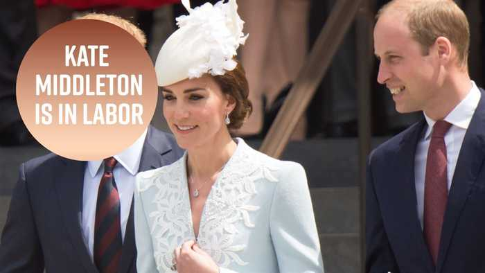 News video: It's a boy! Kate and William welcome royal baby no. 3