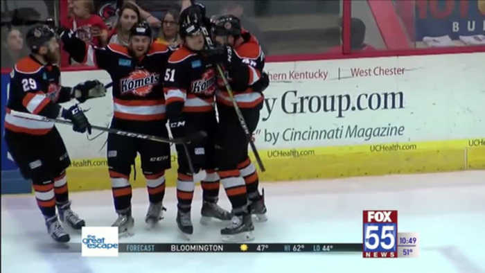 News video: Komets Drop Cyclones, Advance to Second Round in Playoffs