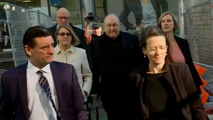 News video: Archbishop of Adelaide found gulity of child abuse cover-up