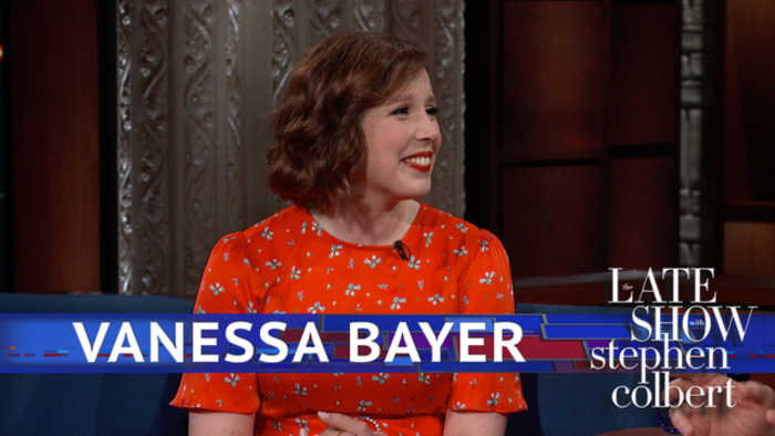 News video: Vanessa Bayer Got Donald Trump To Do A Porn Star Sketch In 2015