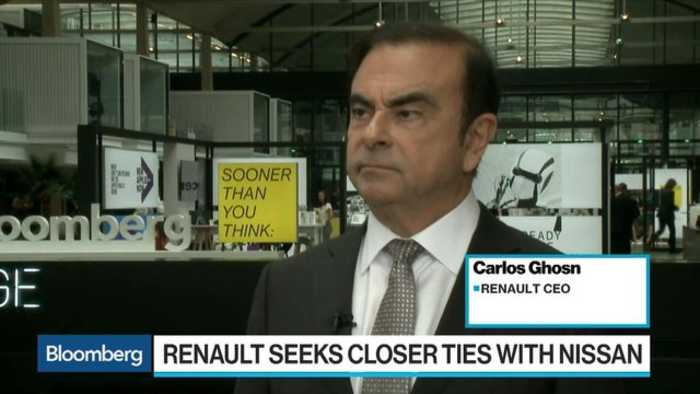 News video: Ghosn Says Electric Car Sales Are Driven by Regulation