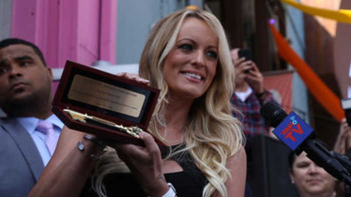 News video: Stormy Daniels receives the key to West Hollywood