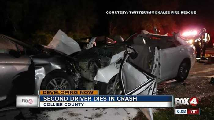 News video: Second driver involved in fatal crash, dies Thursday