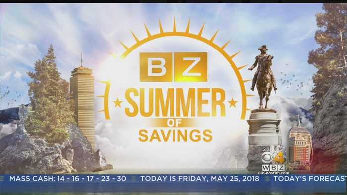 News video: WBZ's Summer Of Savings: Free Events For Memorial Day Weekend