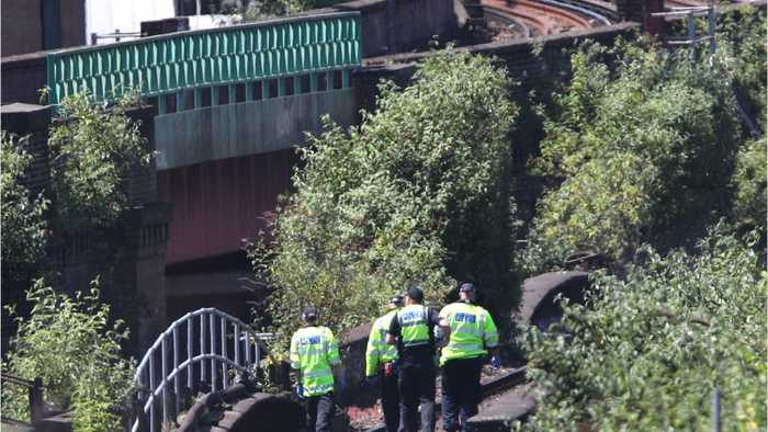 News video: Three Dead After Being Struck By London Train