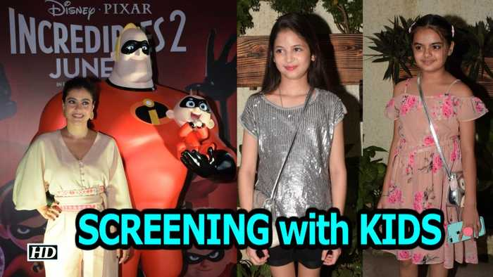 """News video: """"Incredibles 2"""" SCREENING with KIDS"""
