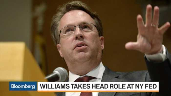 News video: Federal Reserve Bank of NY President Williams Gets to Work