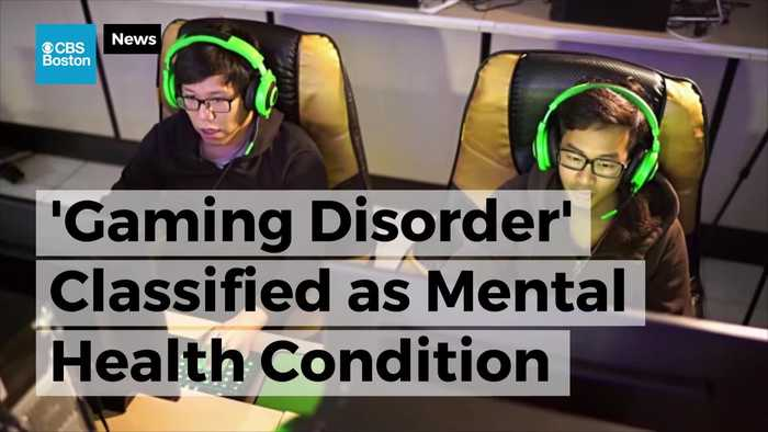 News video: 'Gaming Disorder' Classified as Mental Health Condition