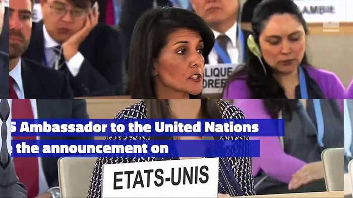US Withdraws from UN Human Rights Council
