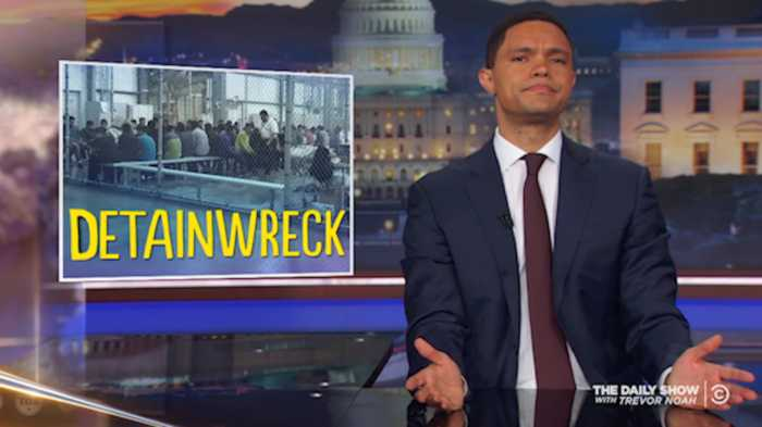News video: Late-night reactions: Trump's 'monstrous' border policy