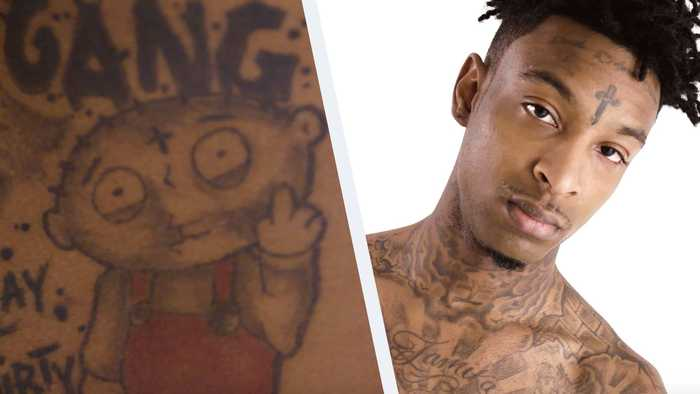 21 Savage on His Extremely Painful Head Tattoos