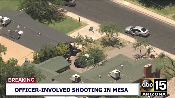 Officers involved in shooting in Mesa