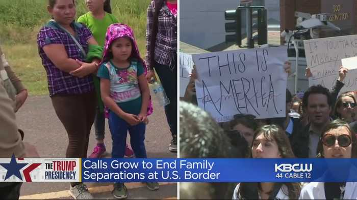 Calls To End Practice Of Separating Children From Migrant Parents
