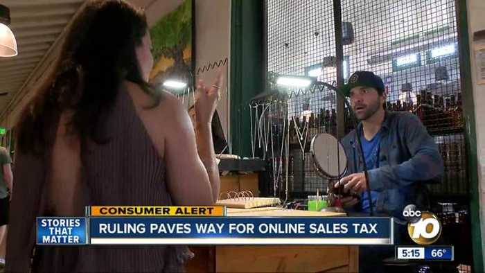 Ruling paves way for widespread online sales tax