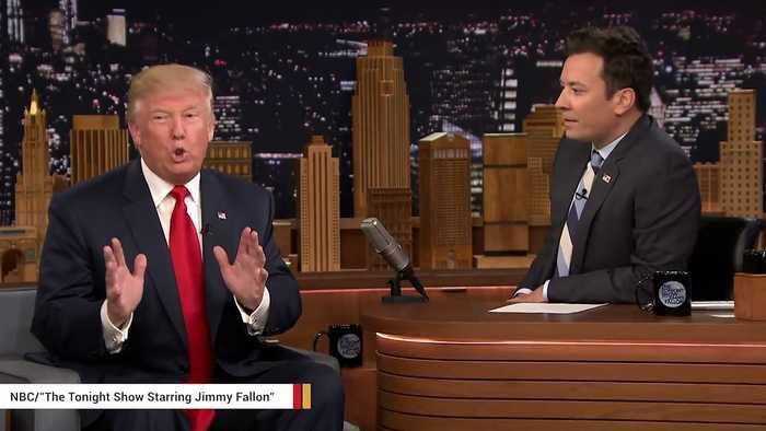 'Be A Man': Trump Lashes Out At 'Whimpering' Jimmy Fallon