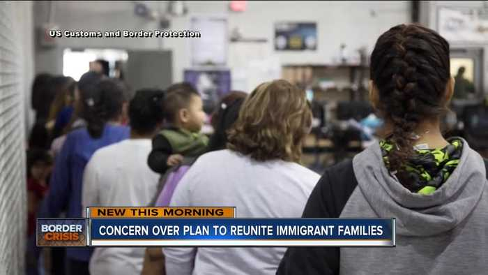 How separated immigrant families will be reunited
