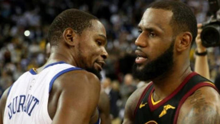 Lebron James TEXTED Kevin Durant About - One News Page ...