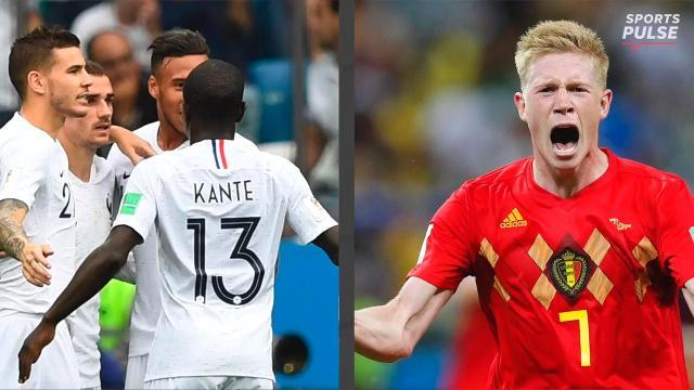 France, Belgium move on to World Cup semifinals - One News ...