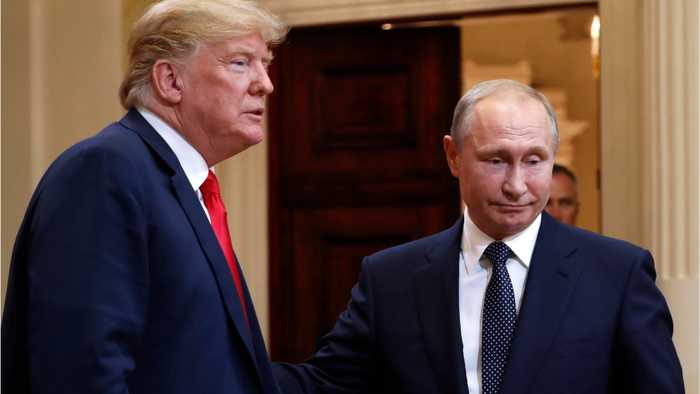 Trump Defends Putin On Election Meddling