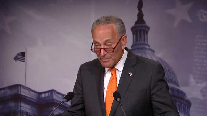 Schumer calls Trump 'thoughtless, dangerous, weak' on Putin